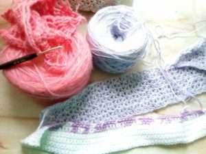 Blumiger Schal Häkeln Made By Hany