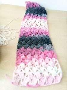 Schal Häkeln Mit Einem Schönen Muster Made By Hany