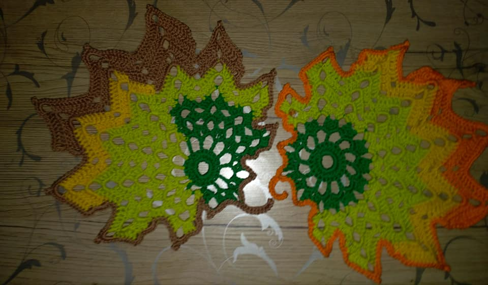 Blätter Häkeln Archive Made By Hany