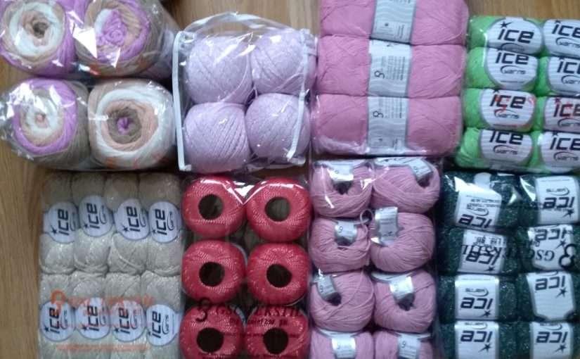 Neue Wolle Bestellung