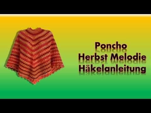 Poncho häkeln